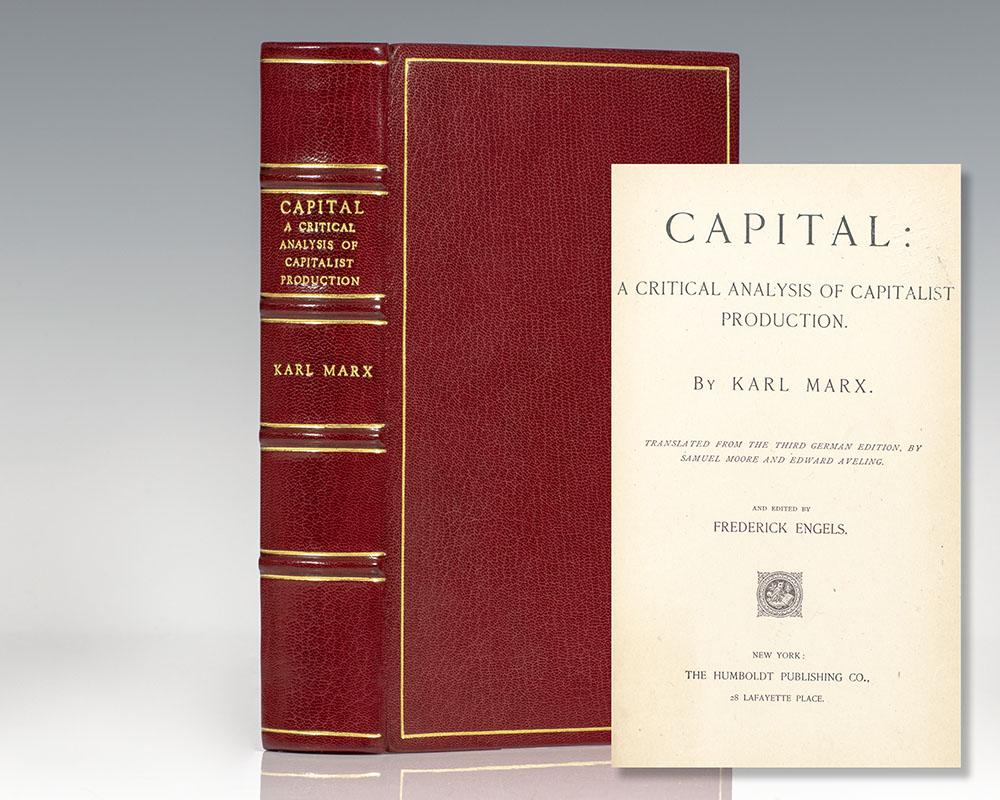 Capital: A Critical Analysis of Capitalist Production.