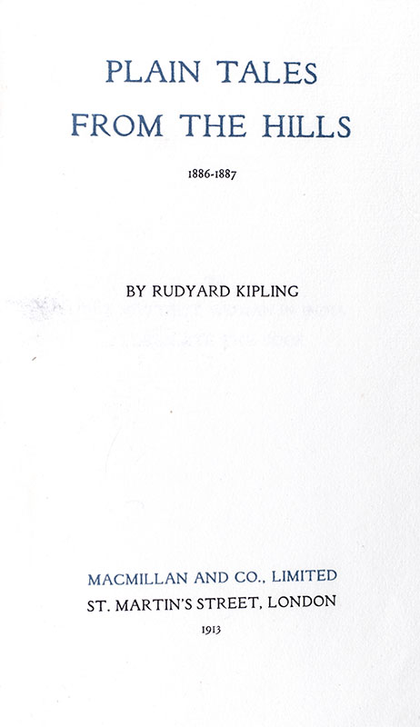 The Works of Rudyard Kipling: The Bombay Signed Edition.