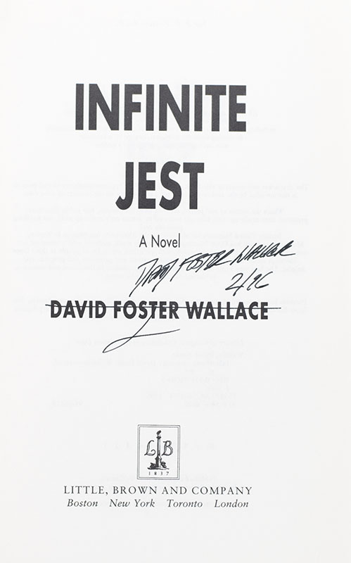 Infinite Jest: A Novel.