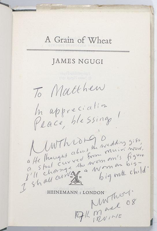 A Grain of Wheat.