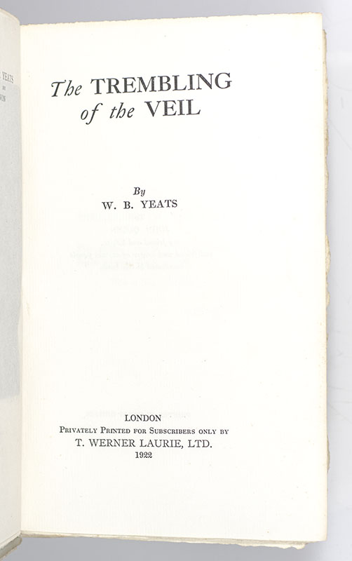 The Trembling of the Veil.