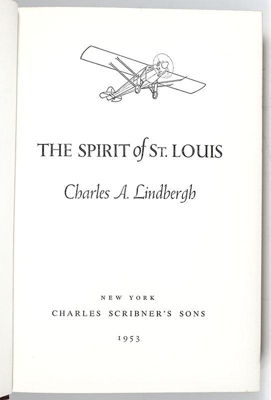 The Spirit of St. Louis.