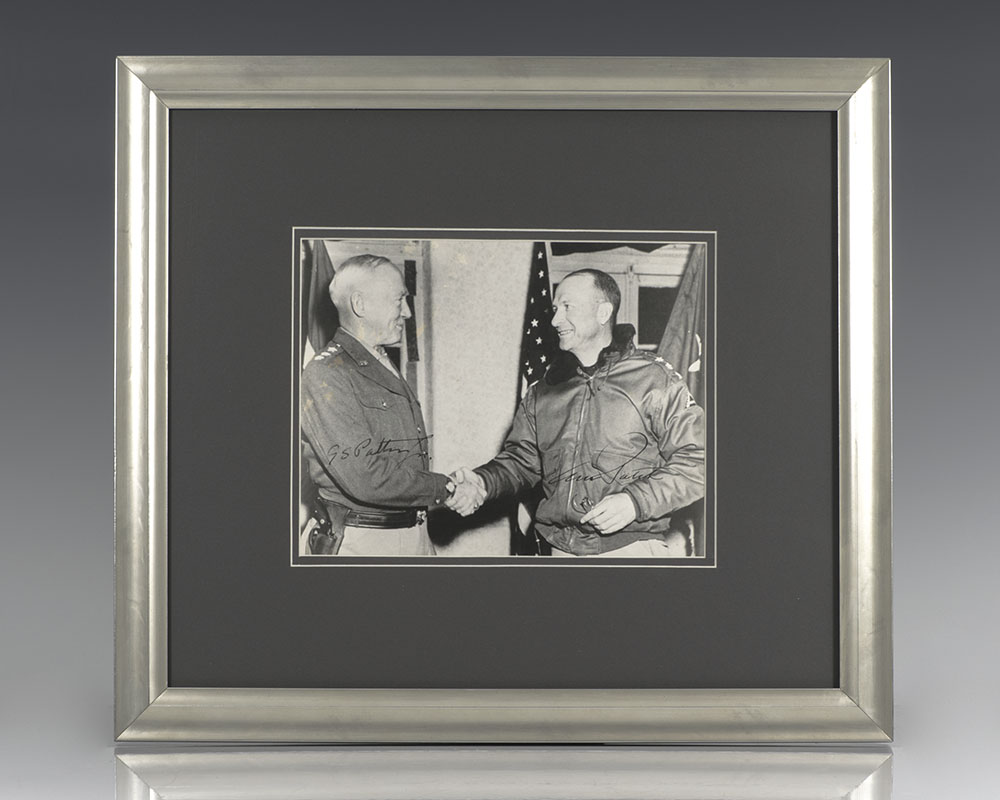 General George Patton, Jr. Signed Photograph.