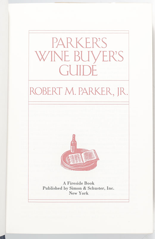 Parker's Wine Buyer's Guide.