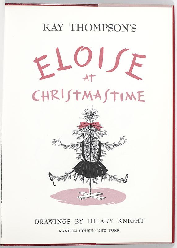 Eloise at Christmastime.