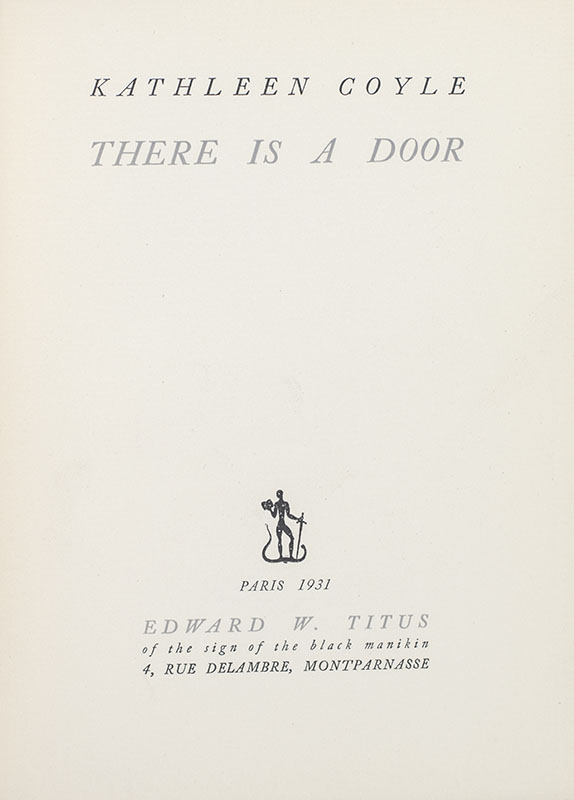 There is a Door.