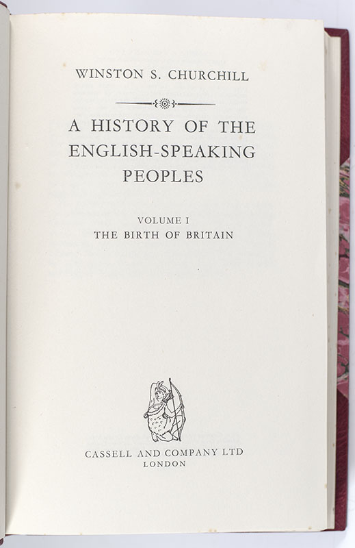 A History of the English-Speaking Peoples.