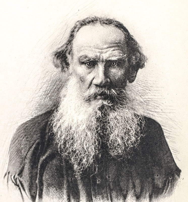 Leo Tolstoy: War and Peace.