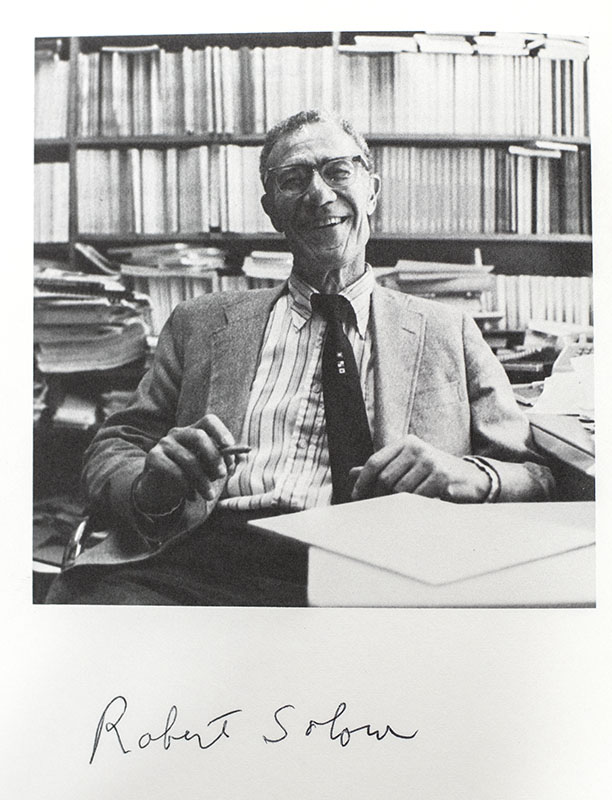Growth/ Productivity/ Unemployment: Essays to Celebrate Bob Solow's Birthday.