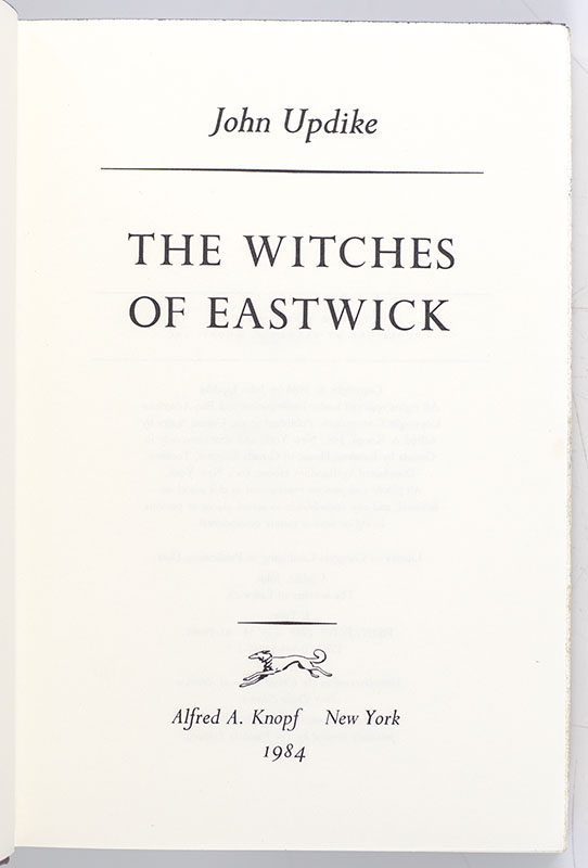 The Witches of Eastwick.