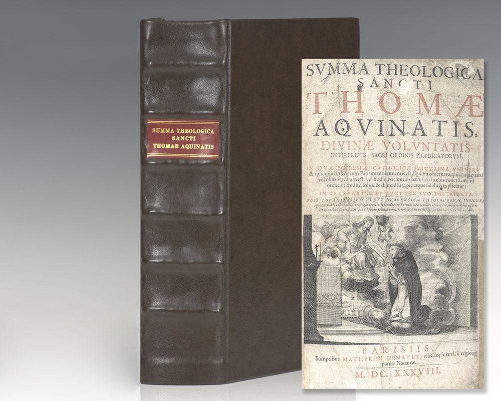 Summa Theologica Sancti Thomae Aquinatis, Divinæ Voluntatis Interpretis: Sacri Ordinis Prædicatorum.