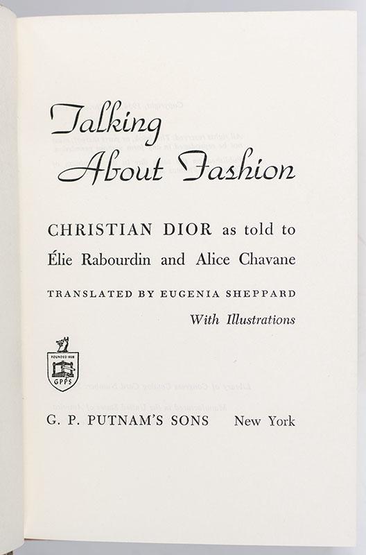 Talking About Fashion.