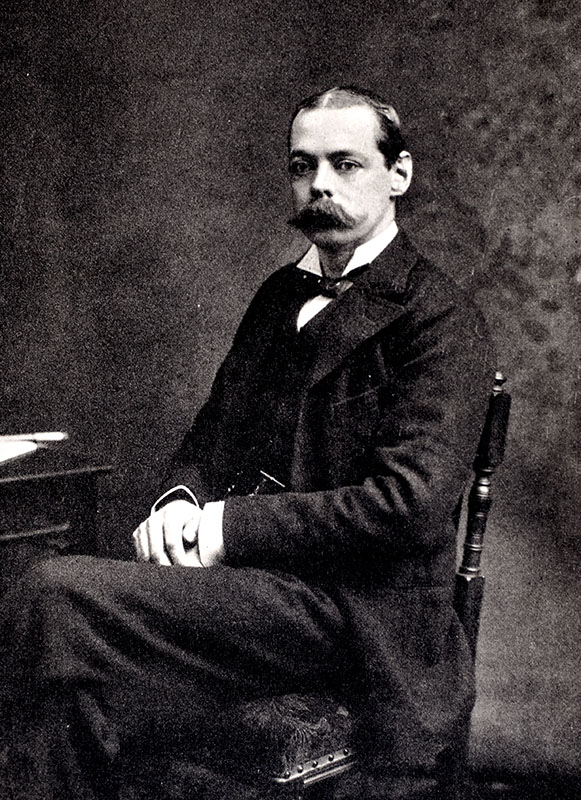 Lord Randolph Churchill.