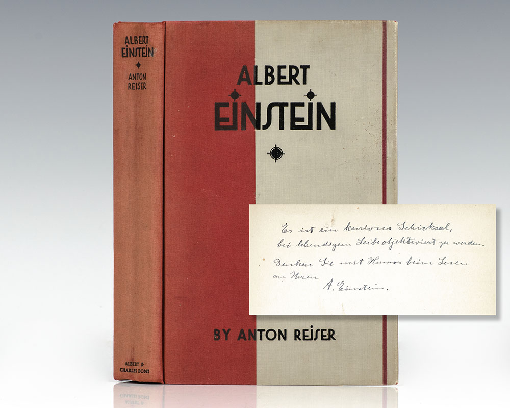 Albert Einstein: A Biographical Portrait.