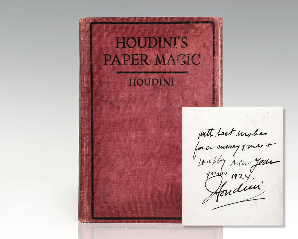 Houdini's Paper Magic.