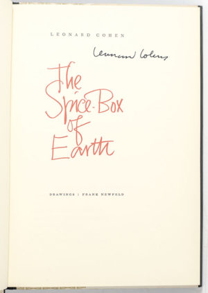 The Spice-Box of Earth.
