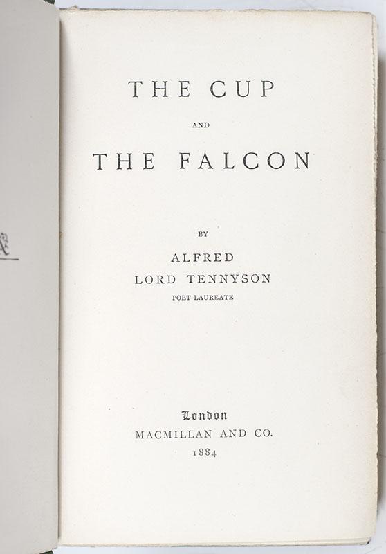 The Cup and The Falcon.