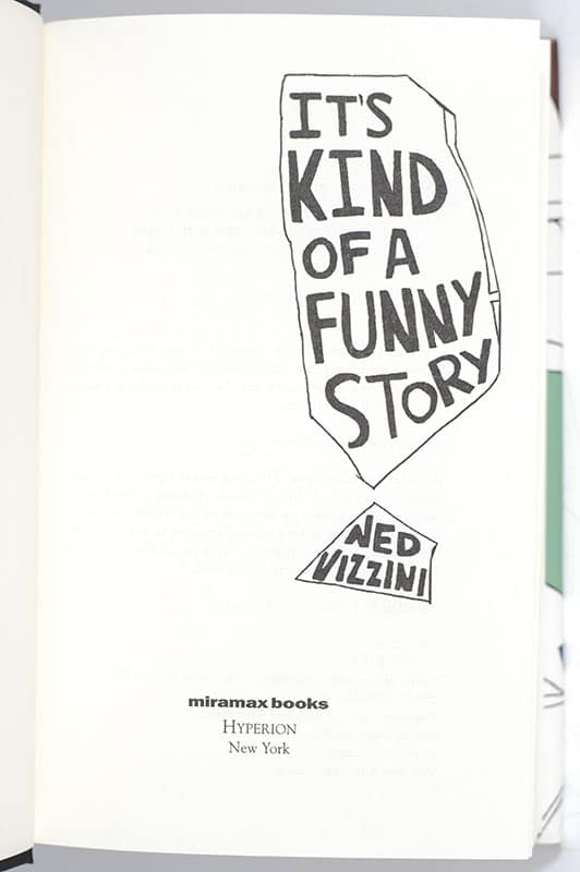 It's Kind of a Funny Story.