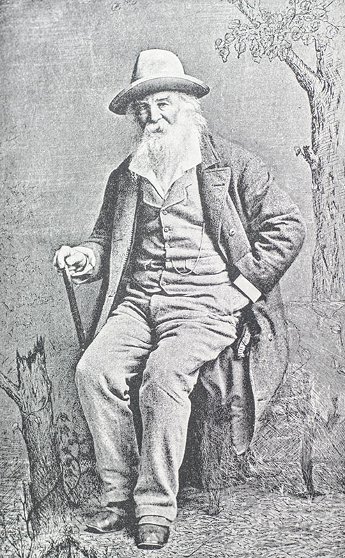 Complete Poems and Prose of Walt Whitman 1855 - 1888. Authenticated & Personal Book (Handled by W.W.)...Portraits from Life...Autograph.