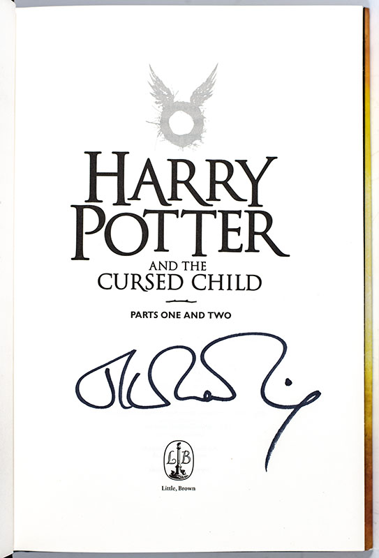 Harry Potter and the Cursed Child, Parts 1 & 2, Special Rehearsal Edition Script.
