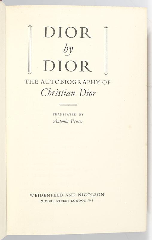 Dior By Dior.