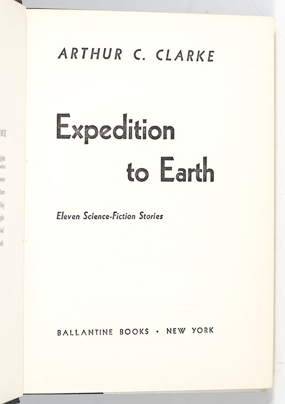 Expedition to Earth.