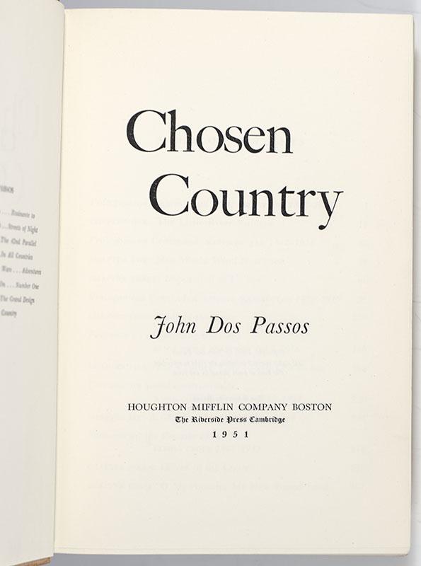 Chosen Country.