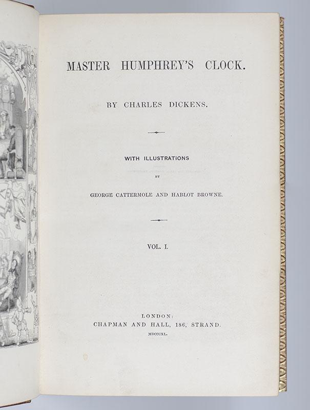 Master Humphrey's Clock.