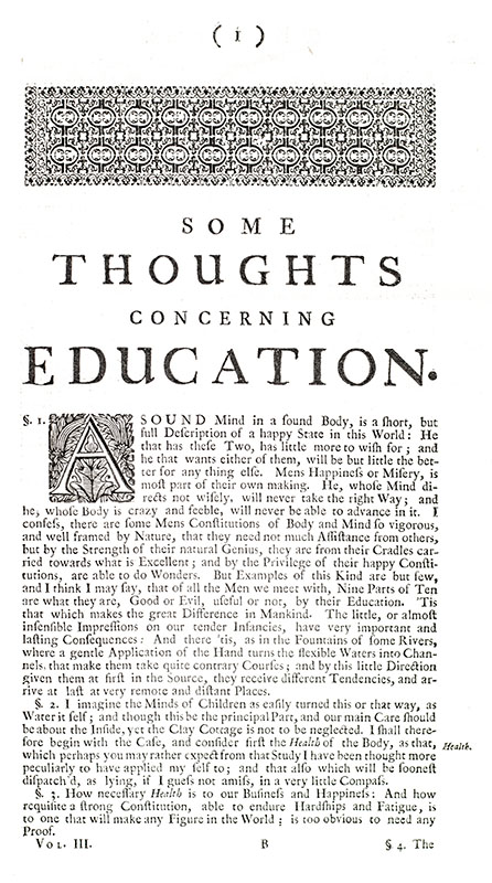 The Works of John Locke [Including: An Essay Concerning Human Understanding, Some Thoughts Concerning Education, Some Considerations of the Consequences of Lowering the Interest, and Raising the Value of Money, An Essay for the Amendment of the Silver Coin, Some Thoughts Concerning Education, Etc.]