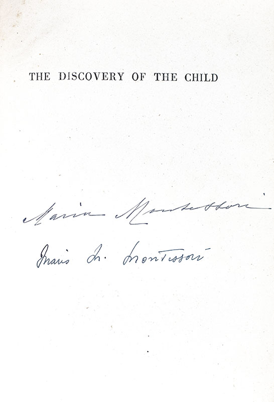 The Discovery of the Child.