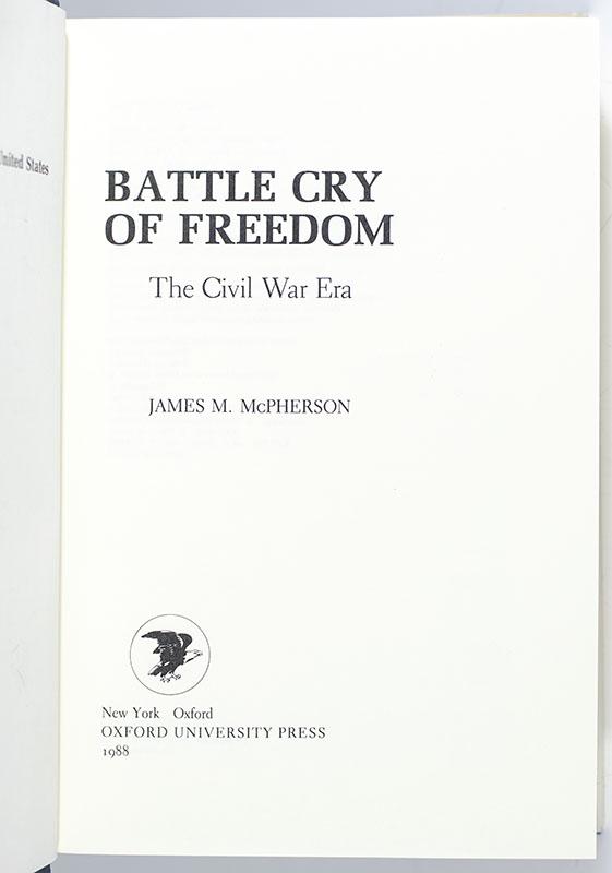 Battle Cry of Freedom: The Civil War Era.