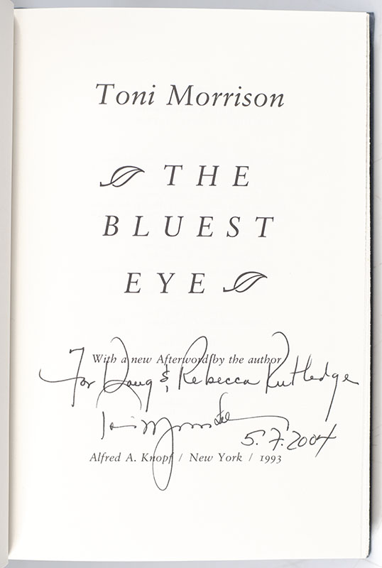 The Collected Novels of Toni Morrison: The Bluest Eye, Sula, Song of Solomon, Tar Baby, Beloved, Jazz.