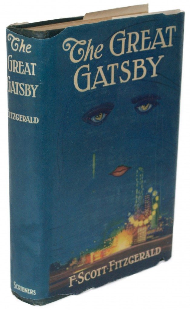 the great gatsby cover commentary