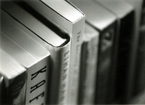 Books Black and White