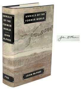 Signed First Edition of Annals of the Former World by John McPhee