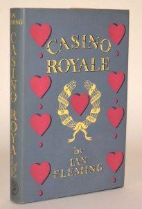 James Bond Casino Royale First Edition Dust Jacket