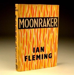James Bond Moonraker First Edition Dust Jacket