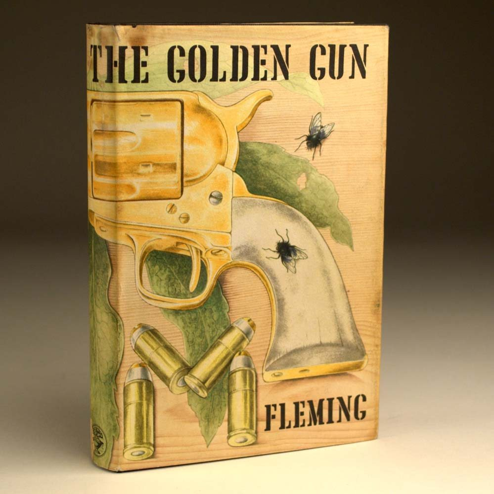 First Edition Man With The Golden Gun Golden Gun First Edition