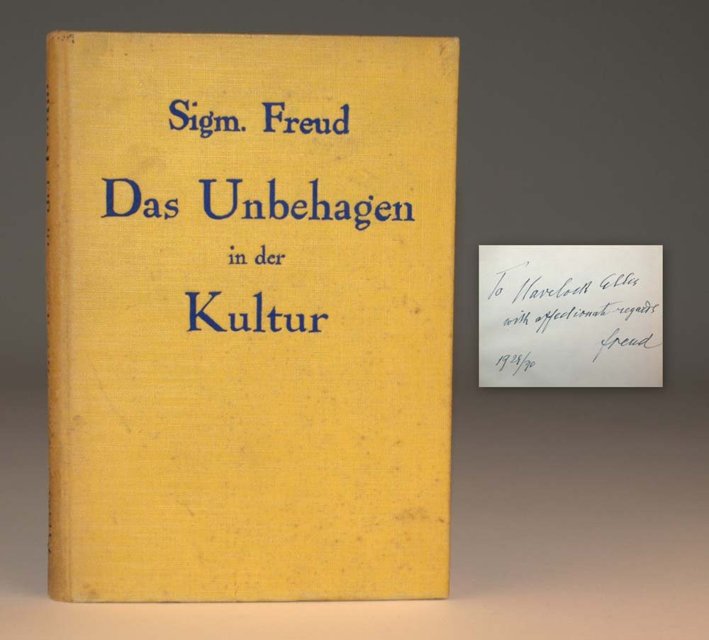 an essay on freud civilization and its discontent Civilization and its discontents is a book by sigmund freudit was written in 1929 and first published in german in 1930 as das unbehagen in.