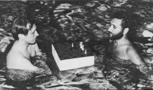 Bobby Fischer and Larry Evans