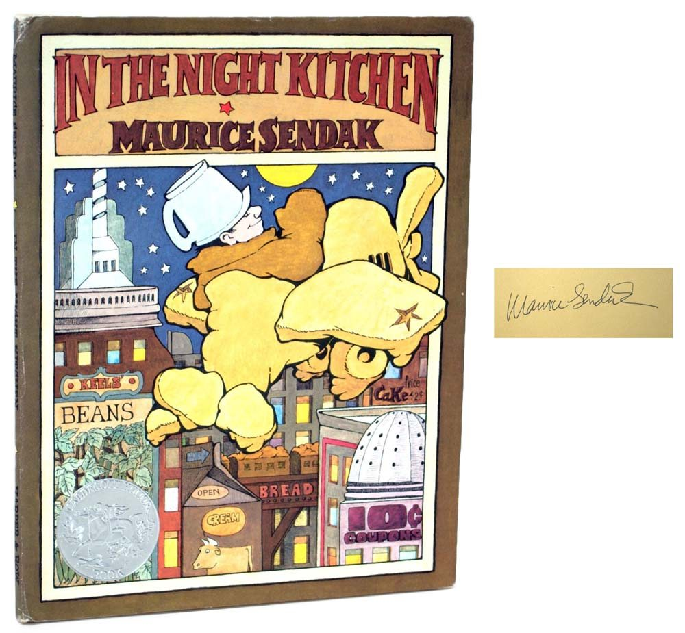 In The Night Kitchen Signed First Edition Maurice Sendak