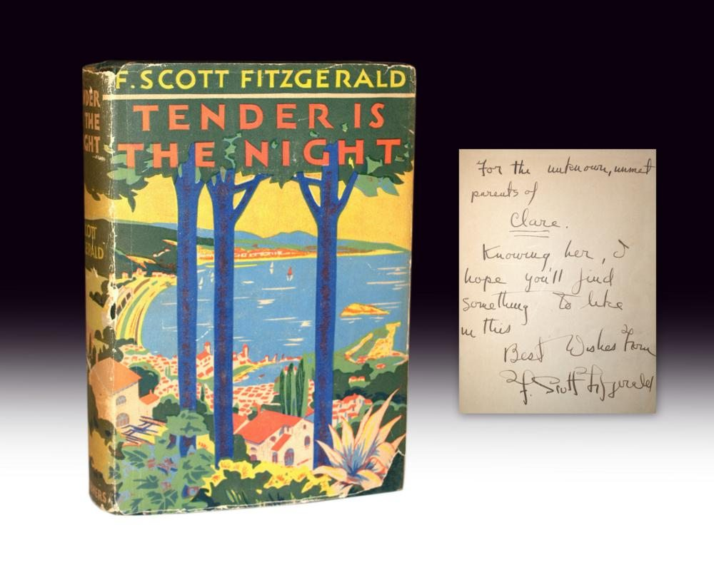 Tender is the Night inscribed first edition