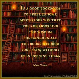 Mark Twain on books