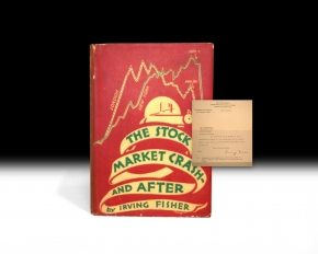First Edition copy of The Stock Market Crash - And After by Irving Fisher