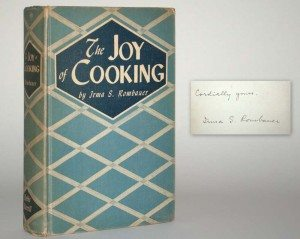 Irma Rombauer, The Joy of Cooking, First Edition, Signed First Edition, Rare Book