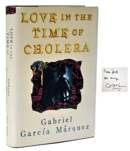 Gabriel Garcia Marquez, Love in the Time of Cholera, first edition, rare book