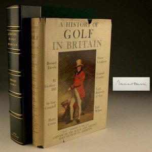 A History of Golf in Britain, Rare, First Edition, Signed