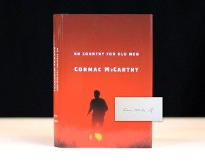 Cormac McCarthy's No Country for Old Men, Rare, Signed First Edition