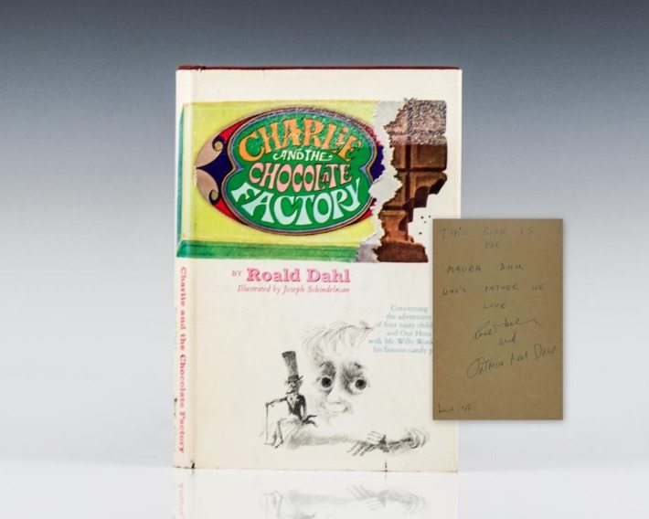 Roald Dahl Charlie and the Chocolate Factory First Edition