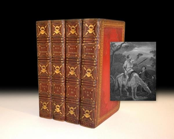 Don Quixote de la Mancha, lavishly illustrated